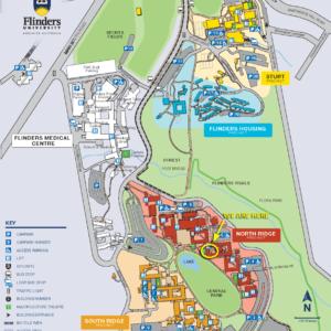 Campus Map - FACCL large